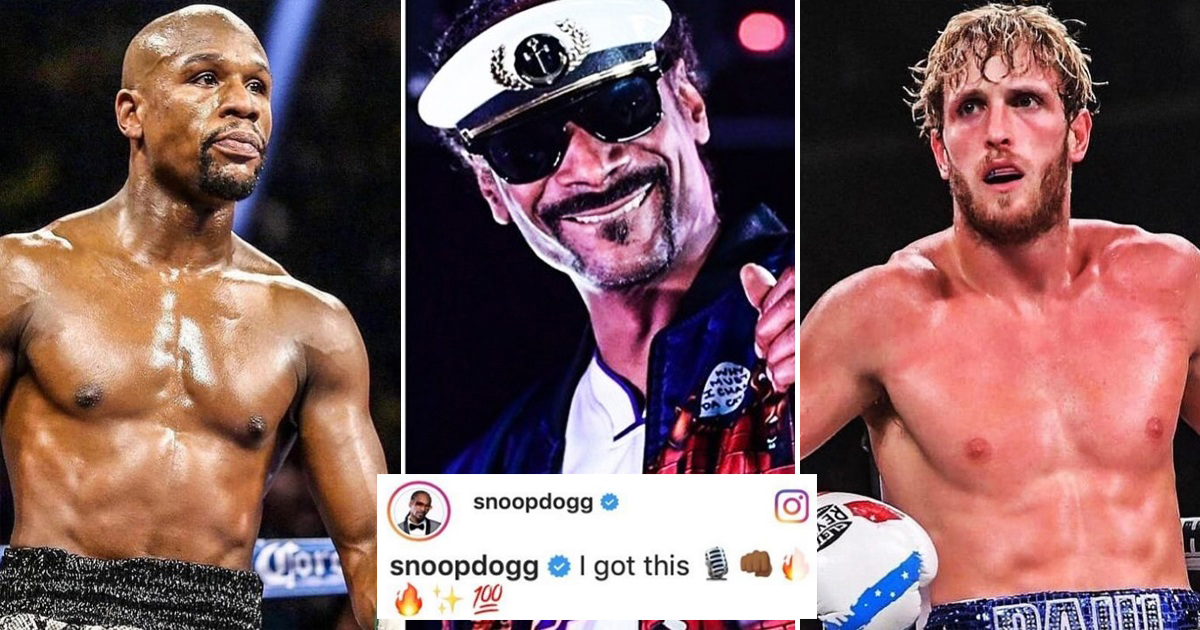 Boxer Floyd Mayweather Announces Fight Against YouTube Boxer Logan Paul