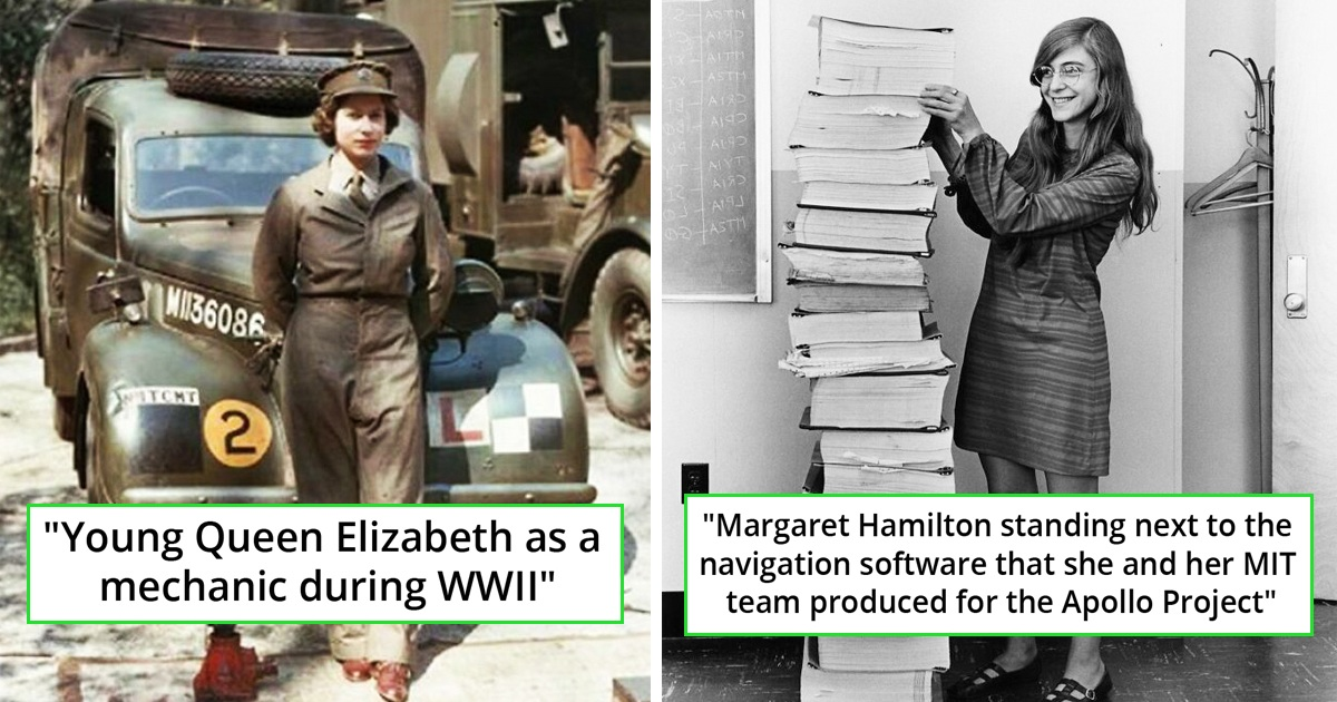 30 Powerful Old Pics That Show Rarely Seen Sides Of History