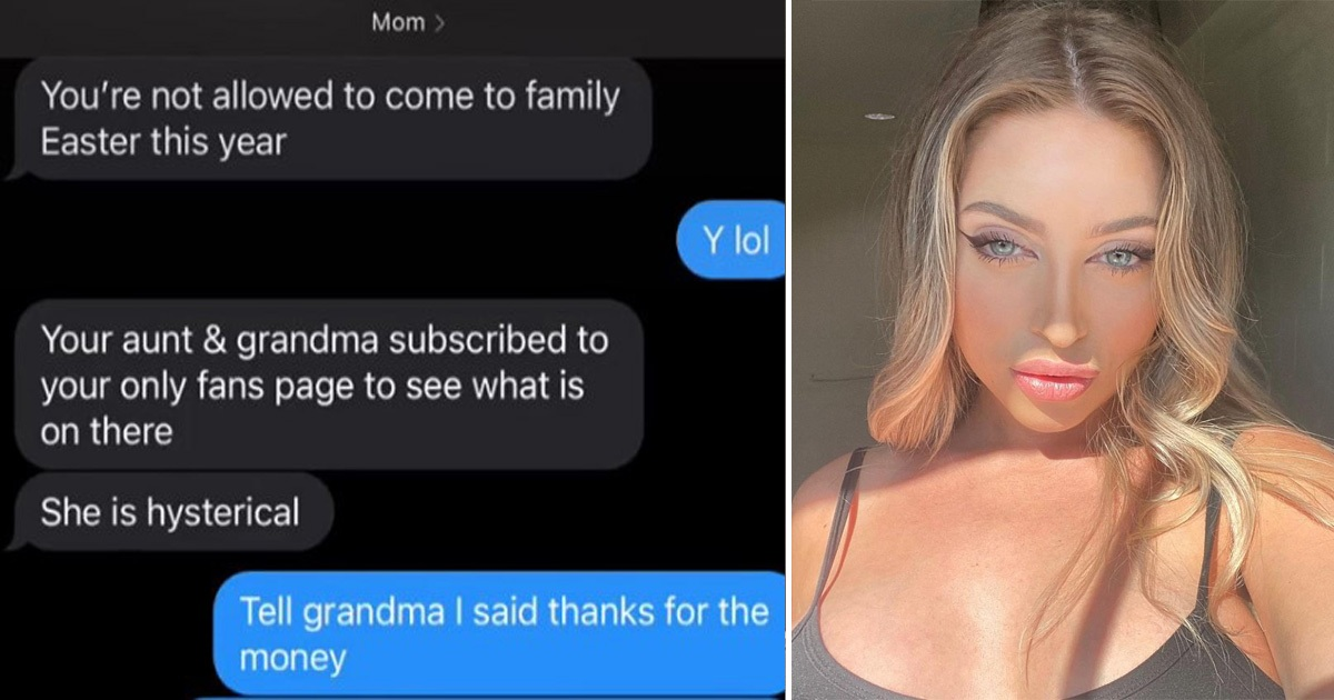 Woman Banned From Family Gatherings After They Find Her OnlyFans Account