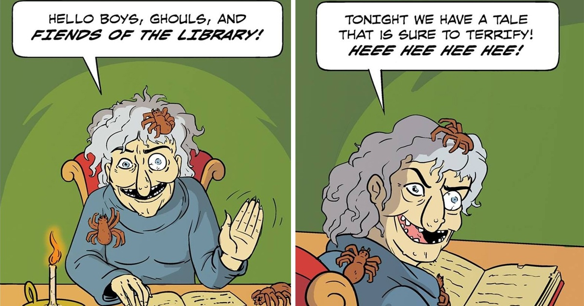 30 Hilarious Library Comics With Unexpected Endings
