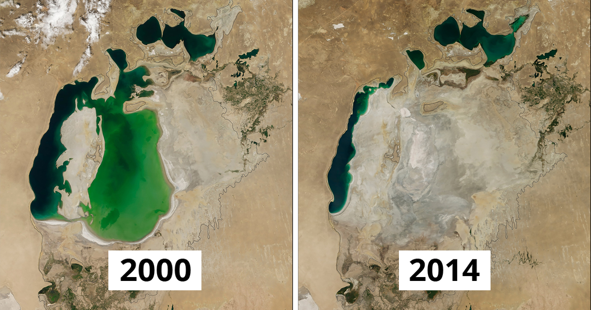 NASA Releases New Images That Show The Actual Impact Of Climate change