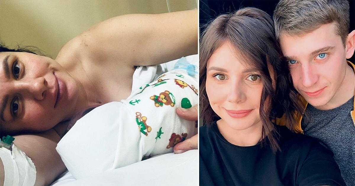 Woman Gives Birth To Her Stepson's Baby After She Ditched His Dad For Him