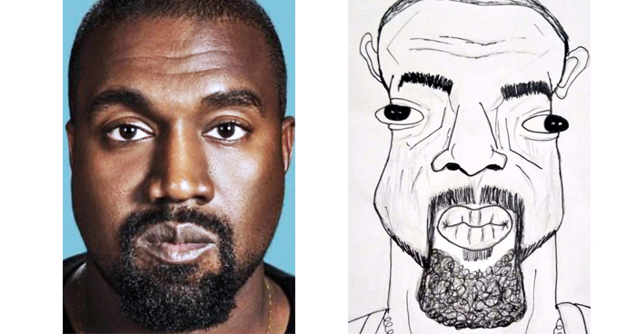 23 Hilariously Bad Celebrity Portraits By Tw1tter Picasso