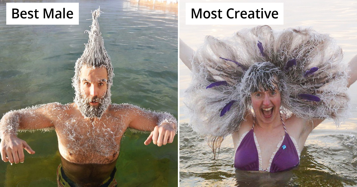 Winners Of Canada's Annual 'Hair Freezing Contest' Look Stunning