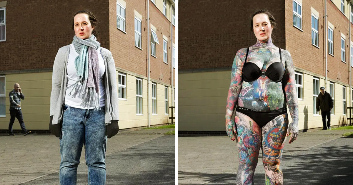 People Reveal What Their Tattooed-Self Really Look Like