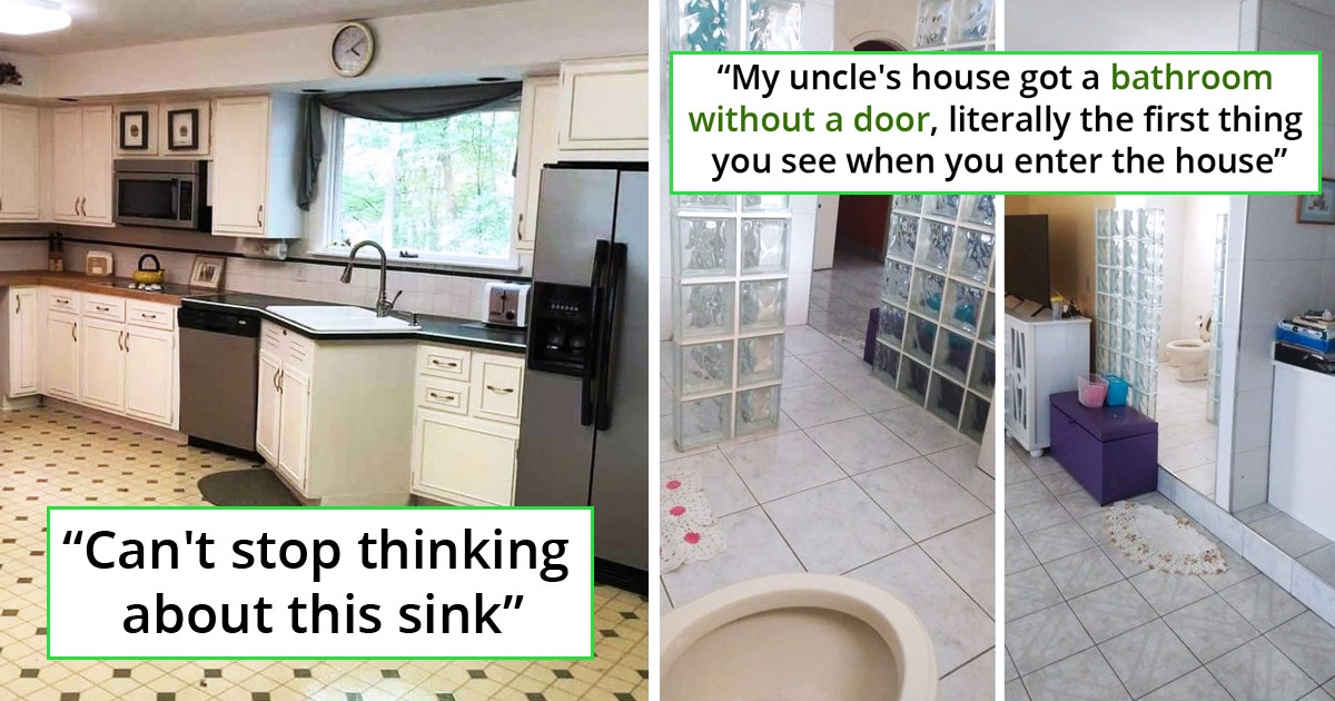 30 Hilariously Worst Interior Designs That Are Borderline Lethal