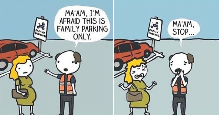 Artist Creates 30 Hilarious Comics With Witty Endings