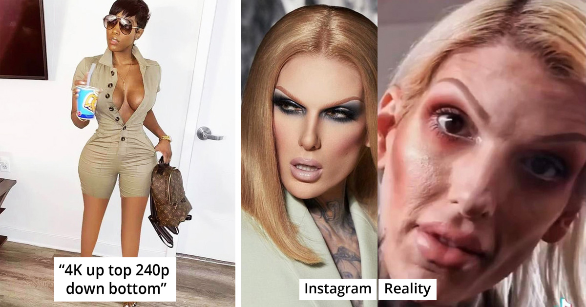 35 Hilarious Times People Got Caught Giving Their Pics Heavy Edits On Instagram