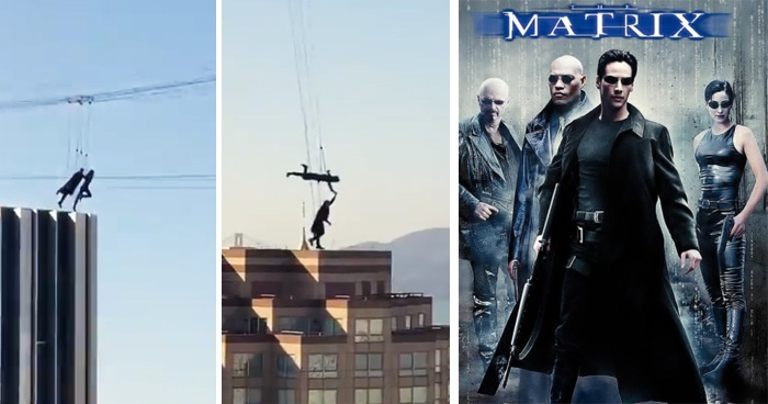 Matrix 4 Stunt Doubles Captured Leaping Off Skyscrapers In A Jaw-Dropping Video
