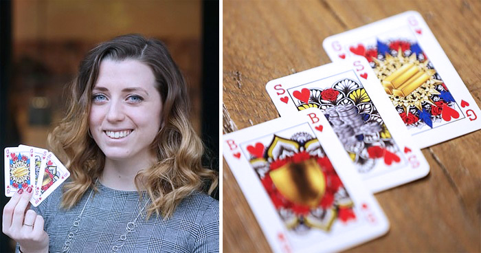 Woman Creates Gender-Neutral Playing Cards To Replace King, Queen, And Jack