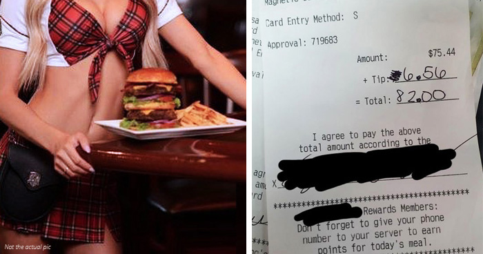 Waitress Left Distraught After A Customer Wrote Brutal Note On Receipt