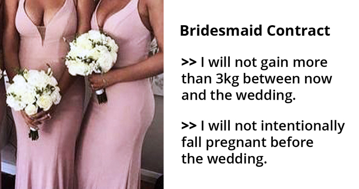 Bride Sparks Outrage After She Shared Bizarre Rules For Bridesmaids