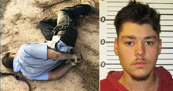 Guy, 19, Who Found Tied Up Faked His Own Kidnapping To Get Out Of Work