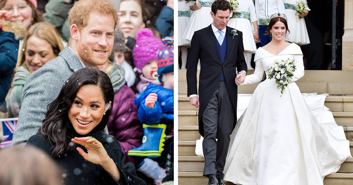 Fans Accuse Prince Harry And Meghan's 2nd Baby News Has Stolen Princess Eugenie Thunder Again