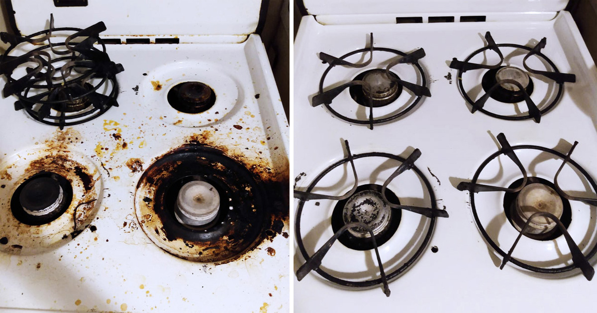 19 Before & After Clean Up Pics That Are So Satisfying To See