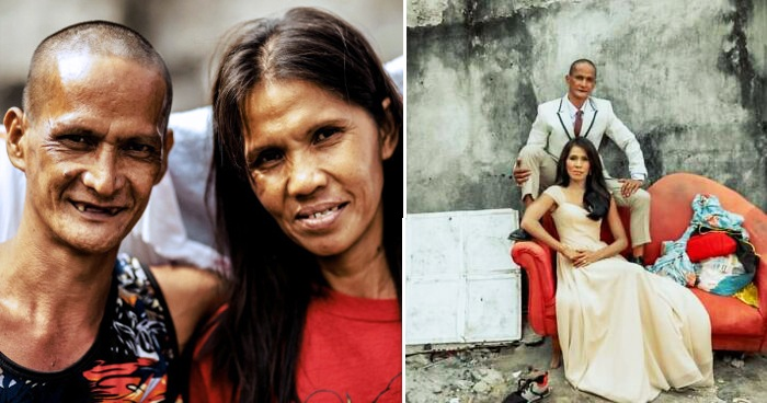 Homeless Couple Are Given A Surprising Makeover And Wedding After Being Together For 24 Years