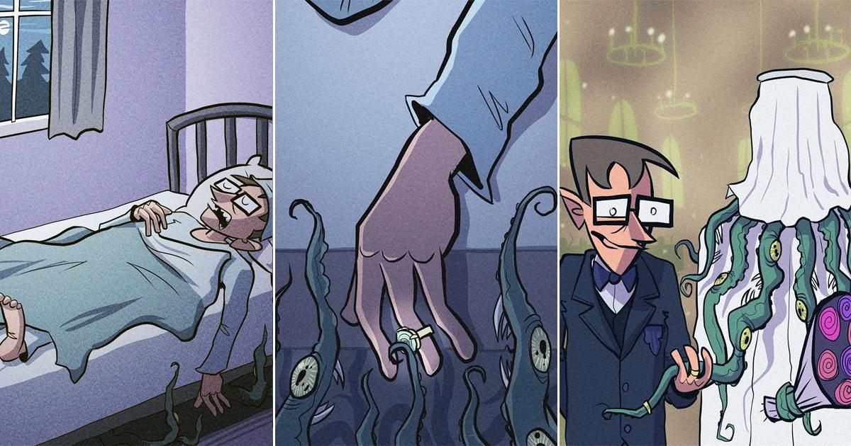 Norwegian Artist's 30 Hilarious Comics For People Who Love Dark Humor