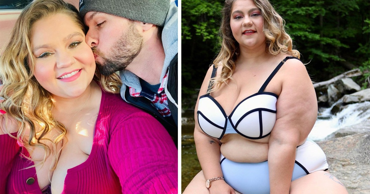 'I'm A Size 26 And Weigh 12st More Than My BF, And We're Proud Of Our Relationship Despite Vile Online Trolls'