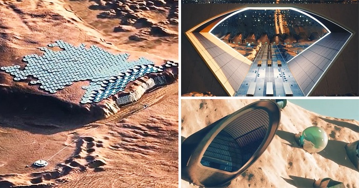 Plans Are Unveiled For First Sustainable City On Mars