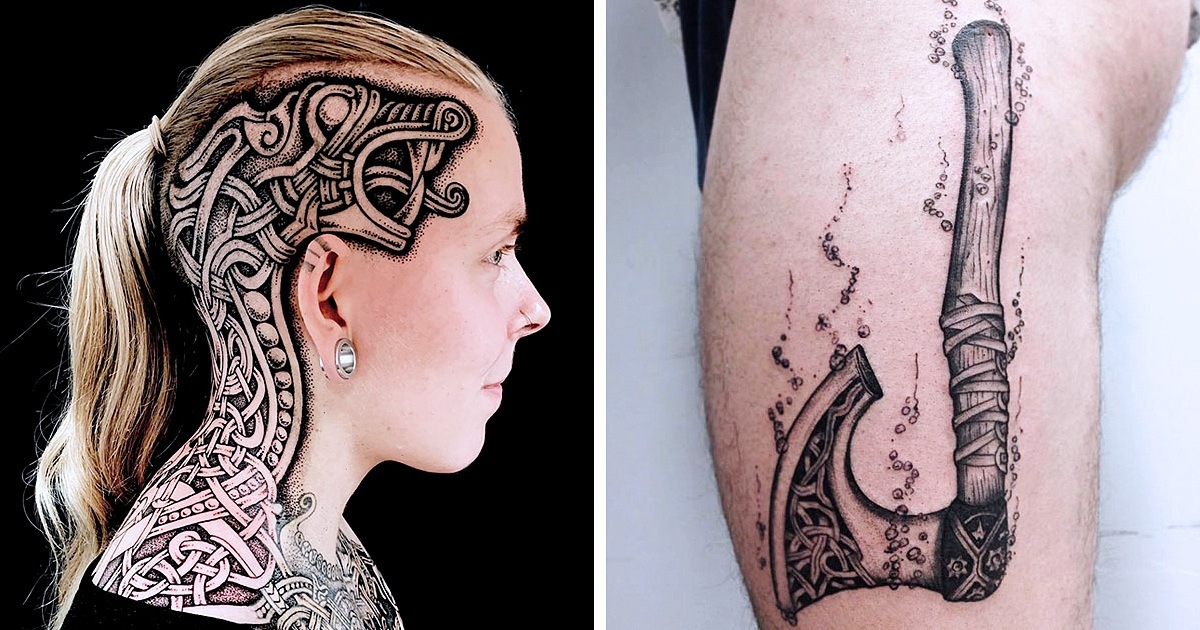20 Cool Viking Tattoos You'll Want To Copy