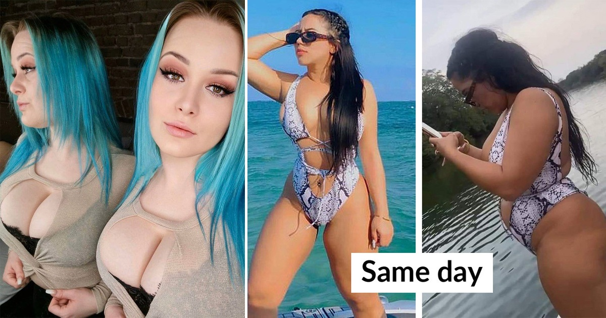 30 Times Instagrammers Edited Their Pics So Much And Slammed For It