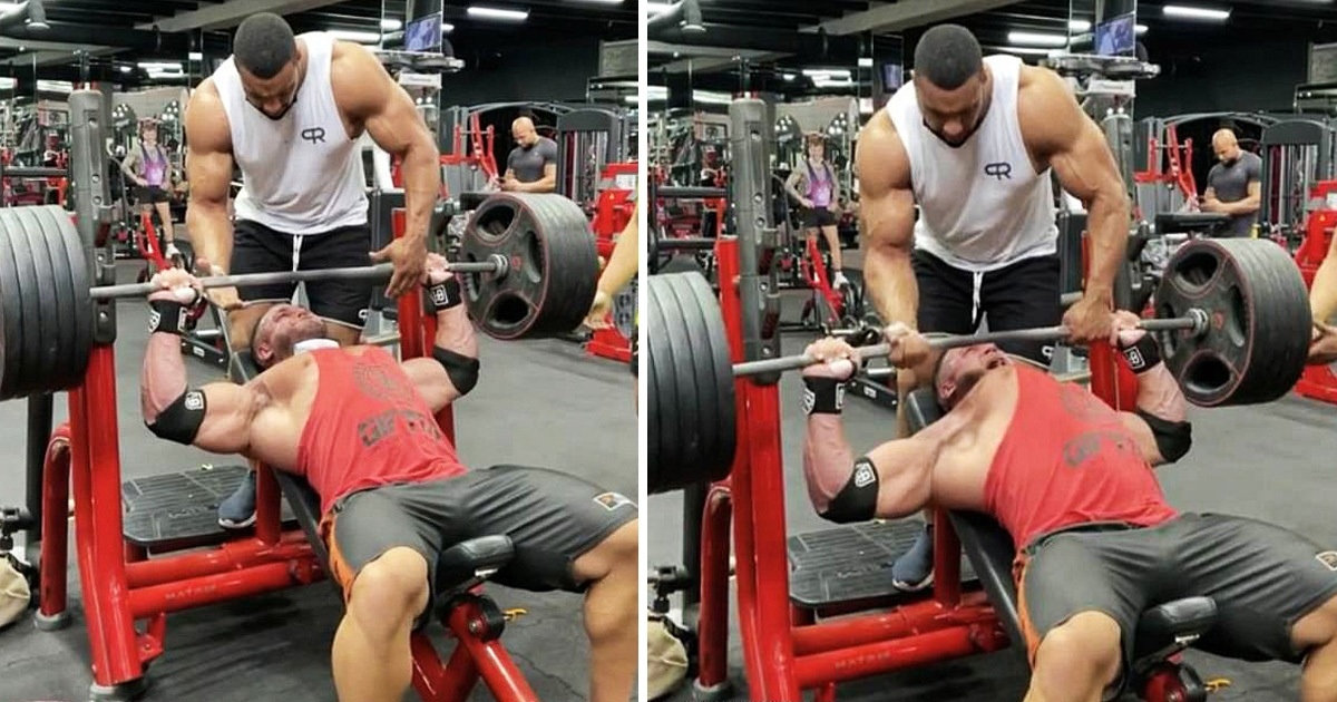 Bodybuilder Rips Pec Muscle From The Bone While Doing Bench-Presses