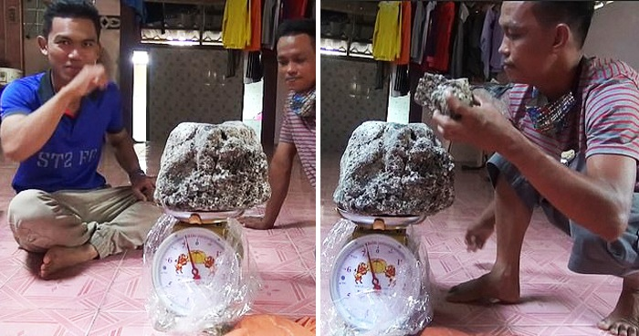 Thai Fisherman Found Huge Lumps Of Whale Vomit Worth Up To $350,000