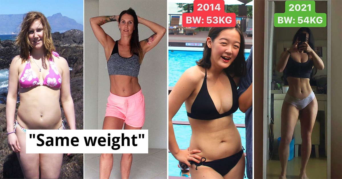 30 People Whose Transformation Prove That Weight Is Not Everything