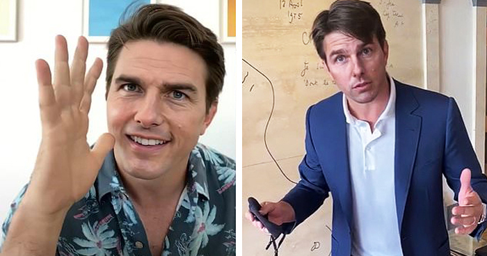 'Deepfake' Tom Cruise Takes TikTok By Storm, And People Are Freaking Out
