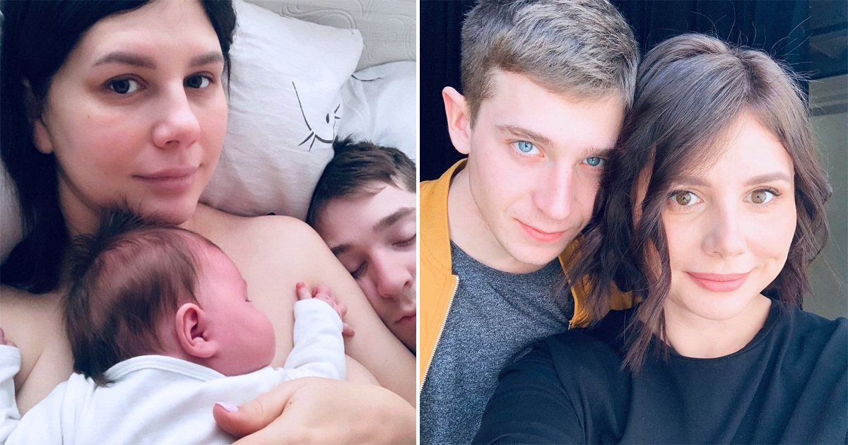 Woman, 36, Who Married Stepson 21, Shares First Pics Of Their Newborn Baby Girl