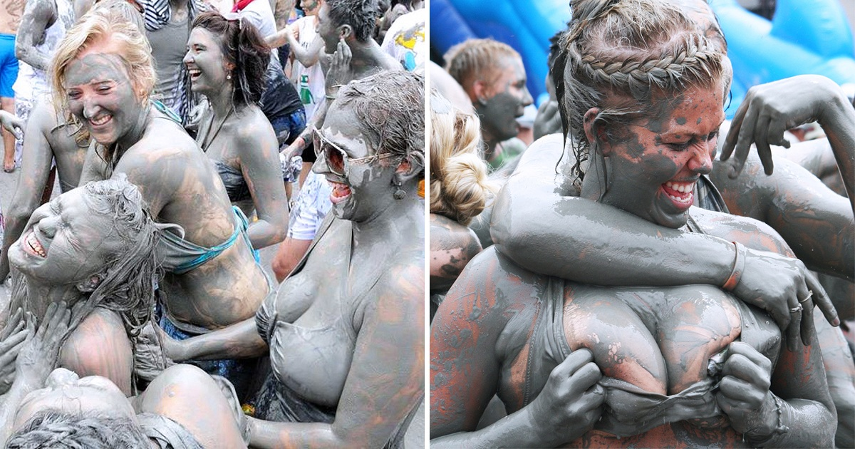 South Korea's Most Famous Boryeong Mud Festival That Makes People Go Crazy