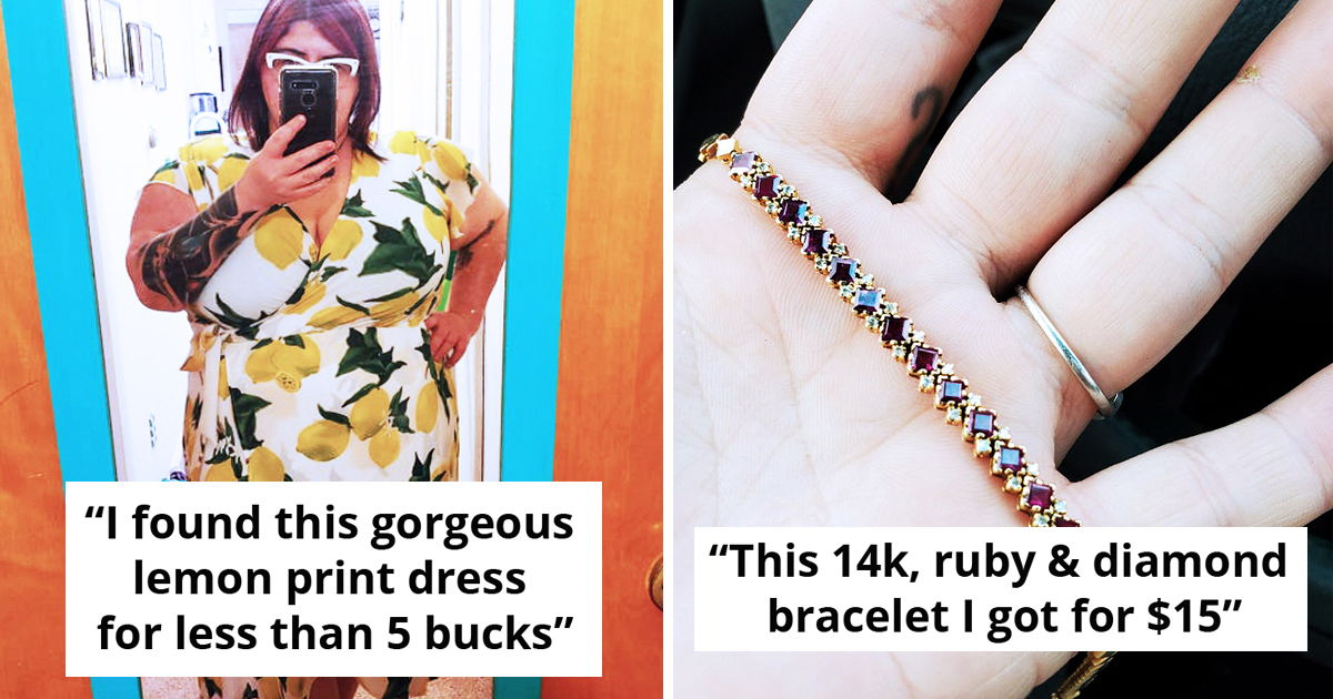 25 Cool Stuff People Got At Unbelievable Value From Thrifting