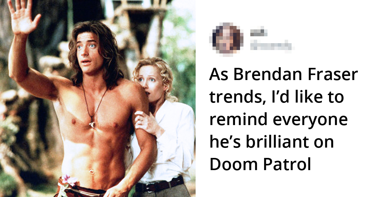 People Are Tweeting Brendan Fraser is An Underrated Actor, And He Deserves All The Love