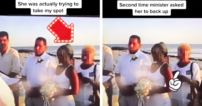 Bride Shares Mother-In-Law's Attempt To Take Her Spot During The Wedding