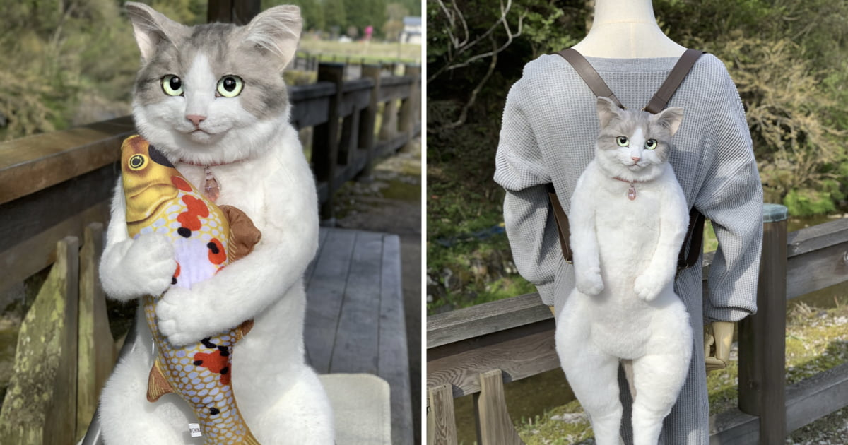 People Are Confused Over This Bag That Looks More Like A Real Cat