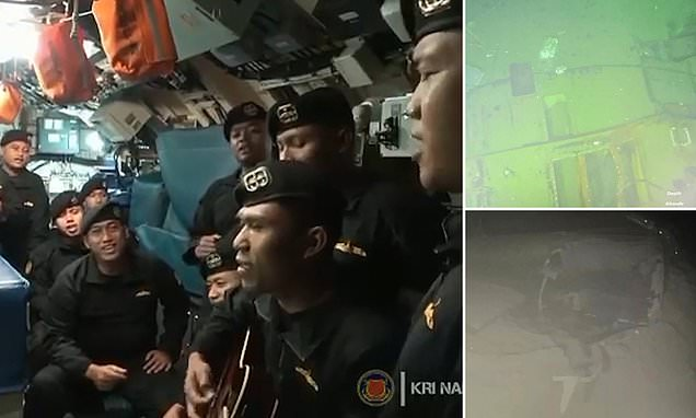 Last Video Shows Crew Of Indonesian submarine Sing To Hit 'Goodbye' Before It Sank