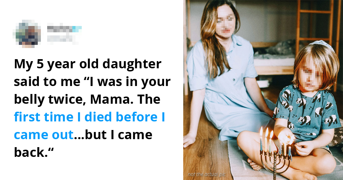 30 Creepy Stories From Kids Who Had Something To Say About Their 'Previous Life'