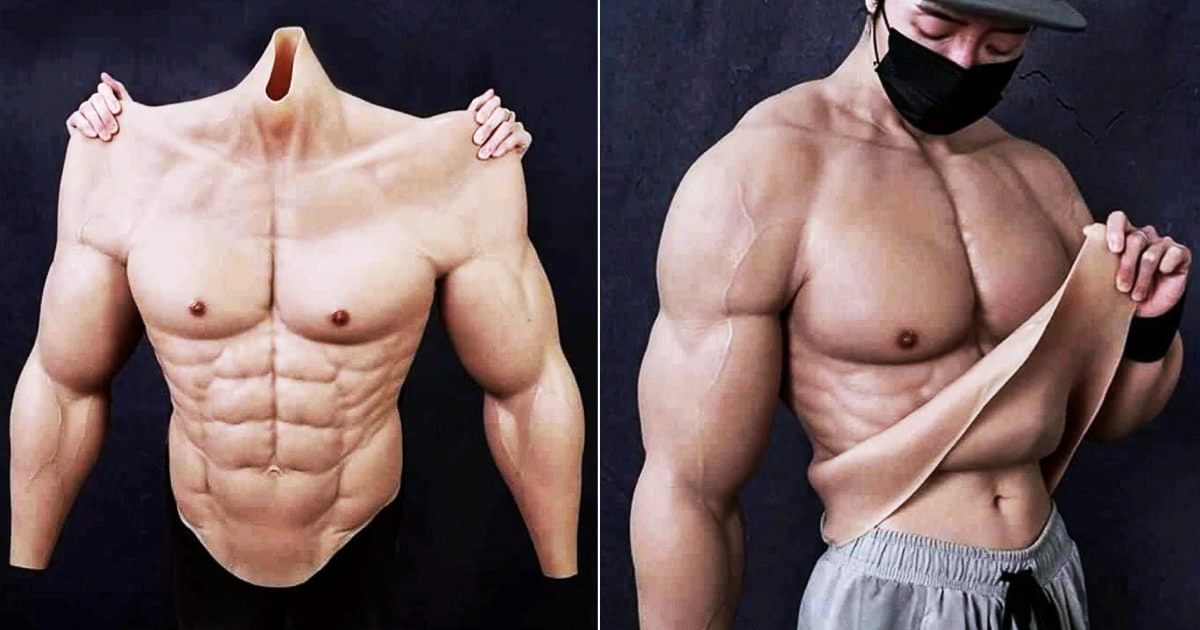 Now Everyone Can Be Hunky With This Realistic Muscle Costume