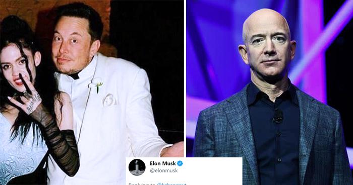 Elon Musk Hilariously Trolls Jeff Bezos After SpaceX Won $2.9B NASA Contract