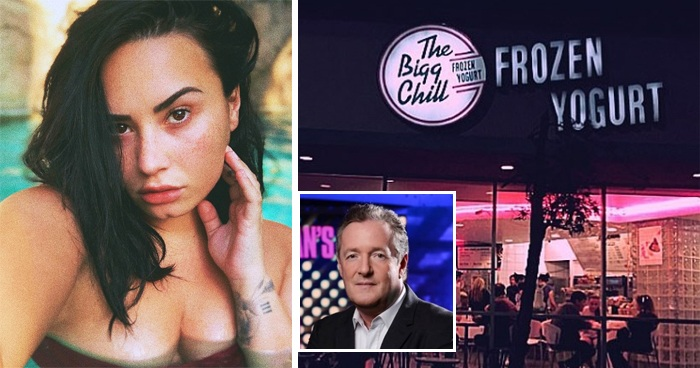 Piers Morgan Slams Demi Lovato As 'Deluded' Over Publicly Shaming The Bigg Chill Frozen Yogurt Shop