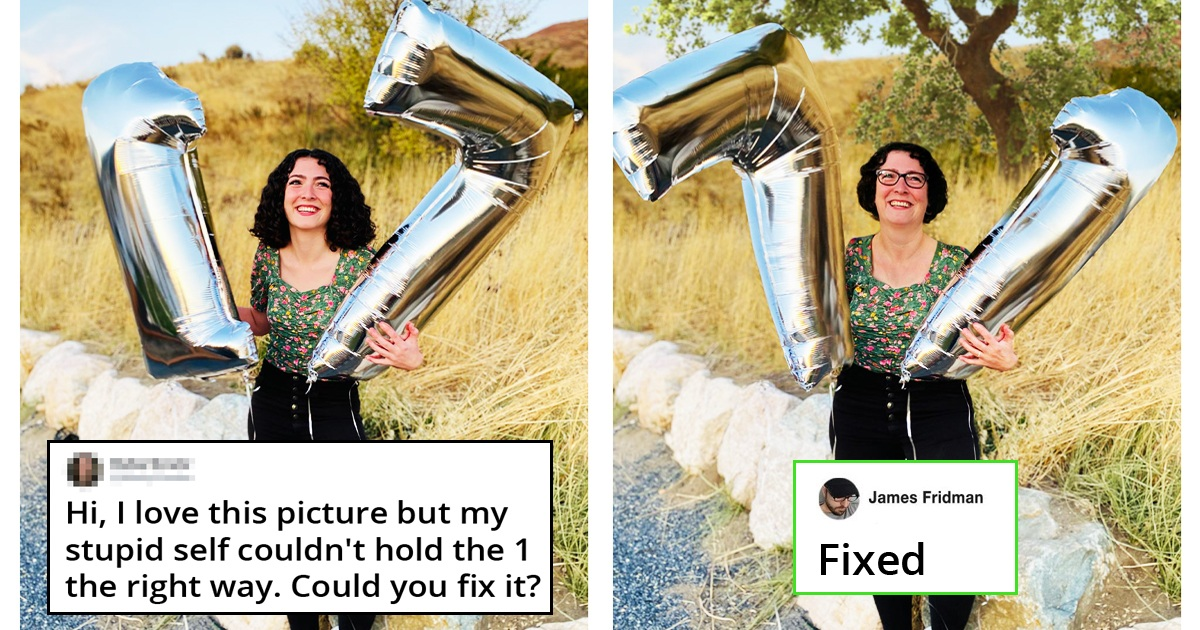 31 People Asked For Their Pics To Be Photoshop And Got Hilarious Results