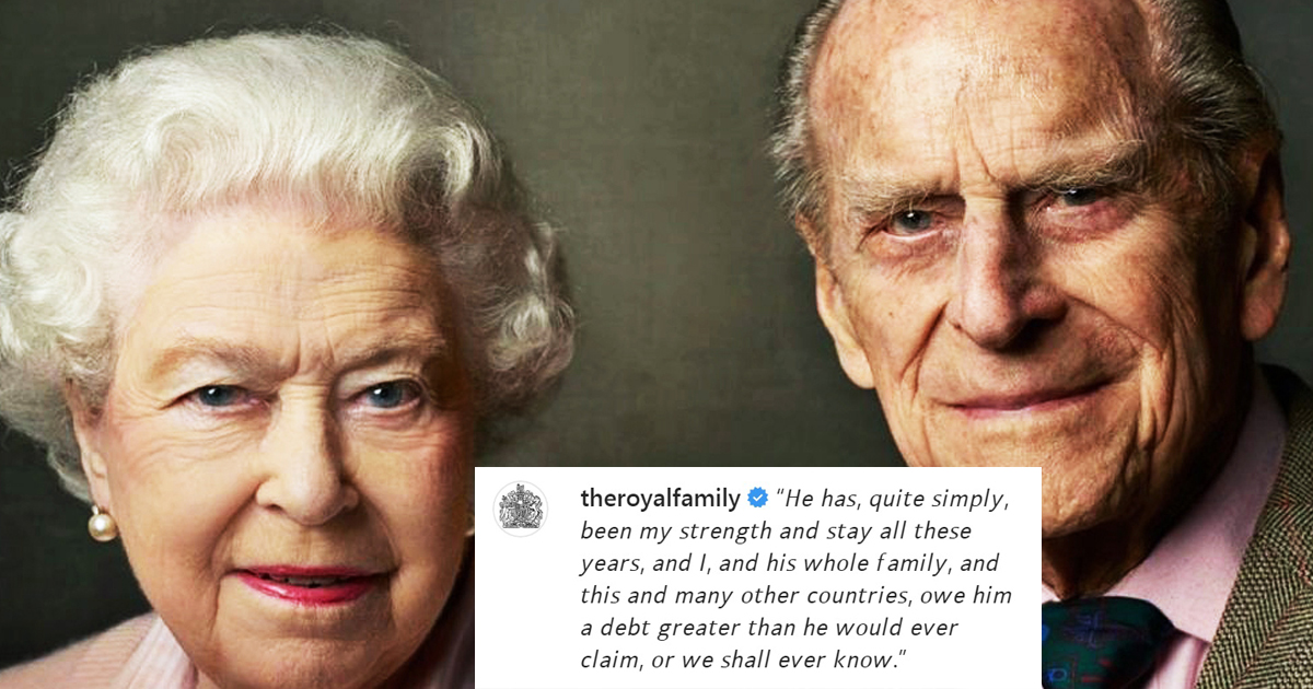 Queen Shares Touching Words For Prince Philip A Day After His Passing