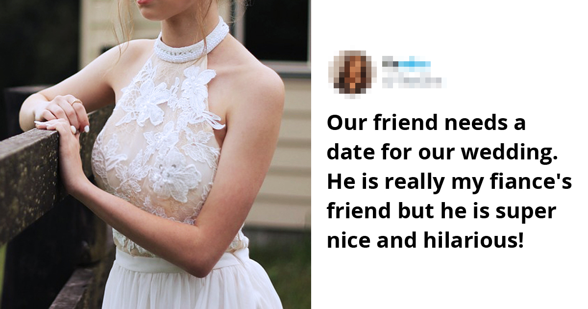 Bride Slammed For Begging The Internet To Date Her Single Friend