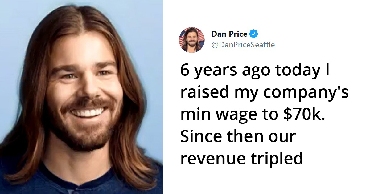 CEO Who Cut His Own Salary To Pay Employees $70K Min Wage Says Revenue Tripled Over 6 Years