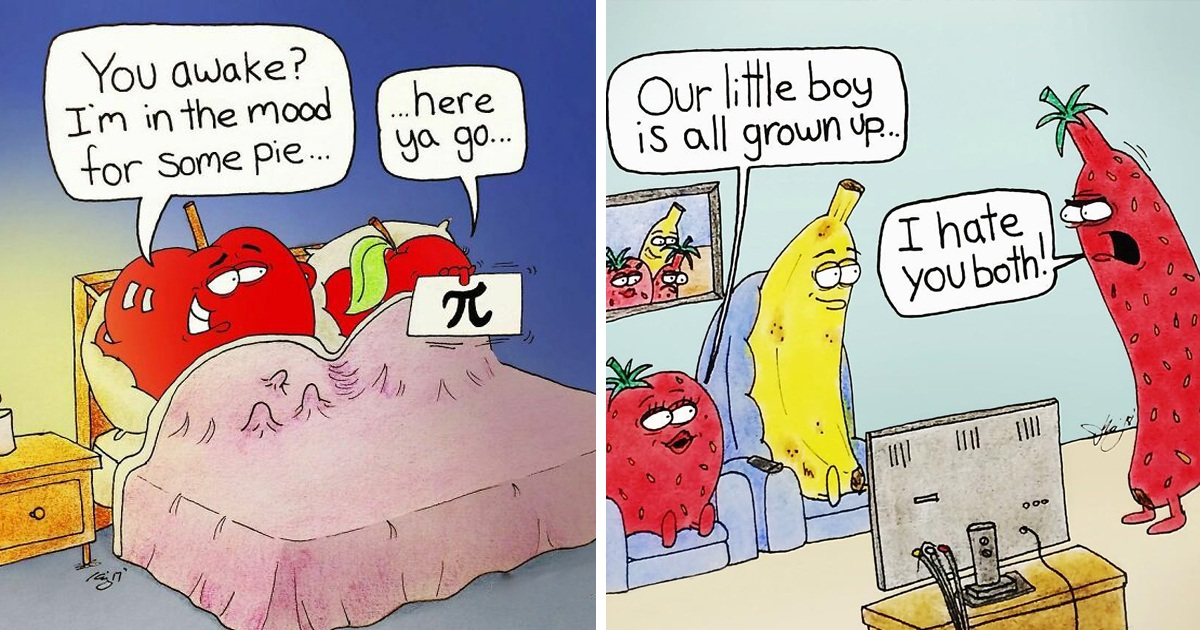 35 Hilariously Inappropriate Comics From 'Fruit Gone Bad'