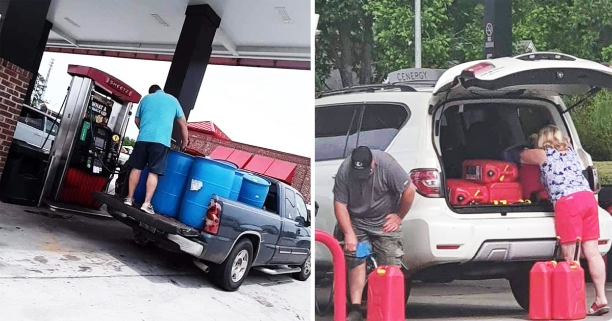18 Pics Show Just How Confusing The Gas Shortage In The U.S. Has Been