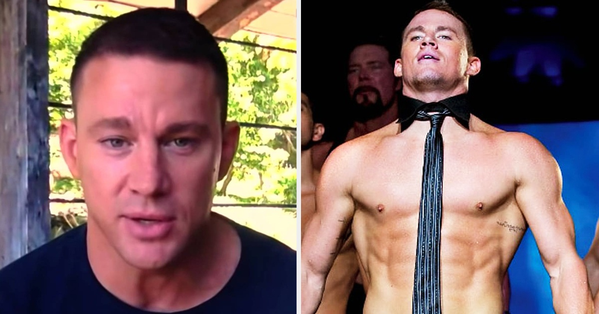 Channing Tatum Says He 'Needs To Get Better At Acting' So He Doesn't Have To Be 'Naked' In All Of Movies He's In