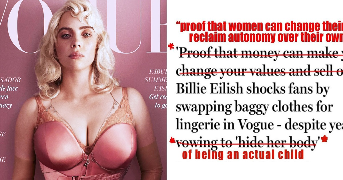Billie Eilish Hits Back At People Slamming Her New Look On Vogue's Cover