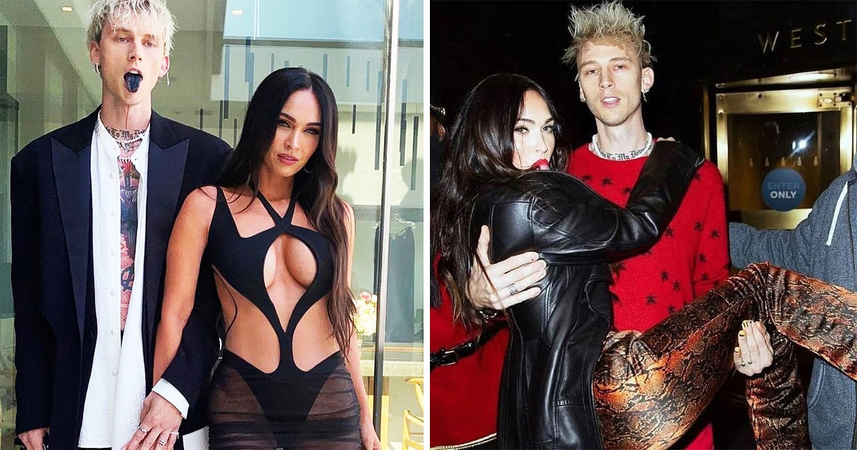Megan Fox Bothered By A Strange Thing On Her BBMAs Pics With Machine Gun Kelly