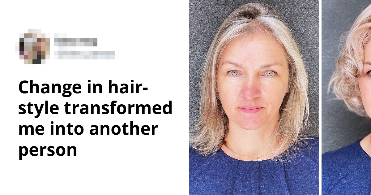 Hairstylist Shows Off How Professional Hairdo Can Transform A Person